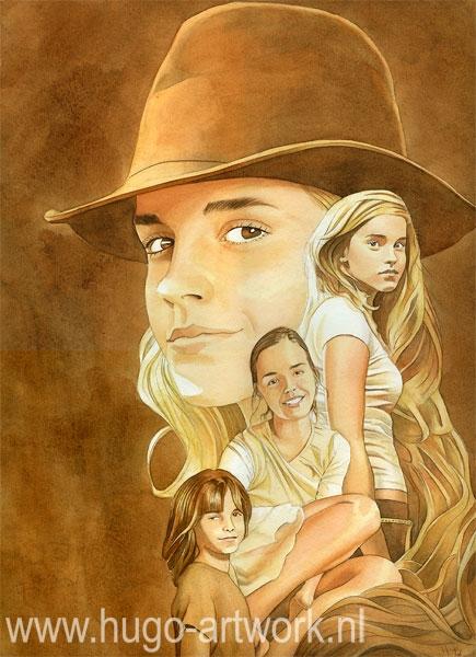 Emma Watson por HugoBaur